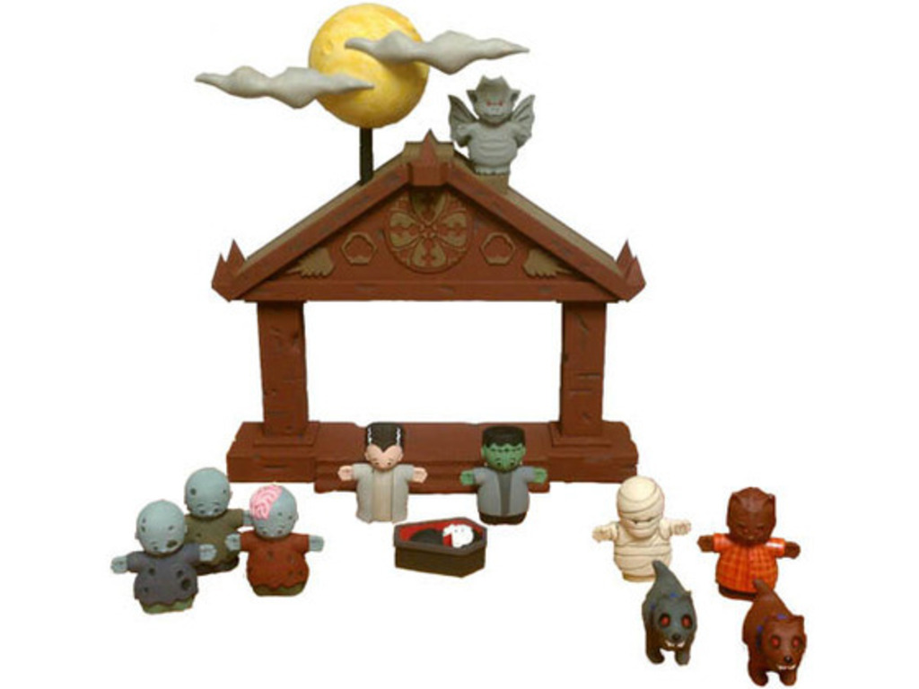 The First Halloween... Nativity Set 2, Electric Boogaloo!'s video poster
