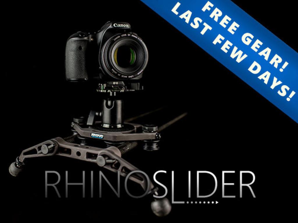 Rhino Slider for DSLR Cameras's video poster