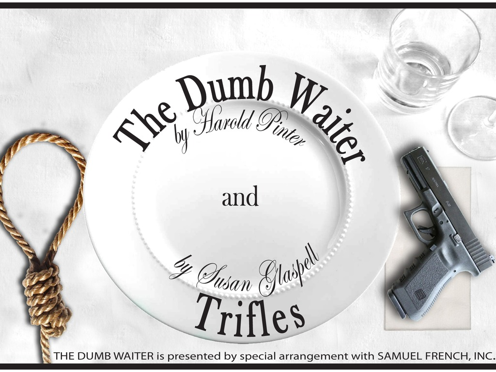 Unexpected Stage Company's The Dumb Waiter and Trifles's video poster