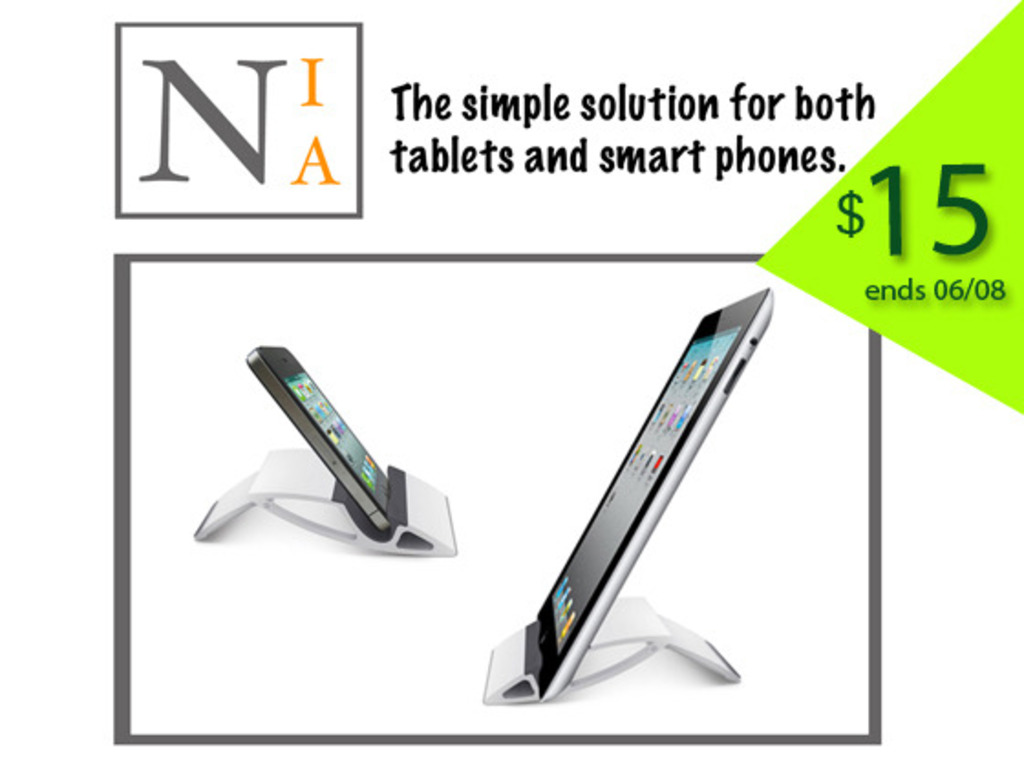 NIA for tablets / smart phones / iphones's video poster