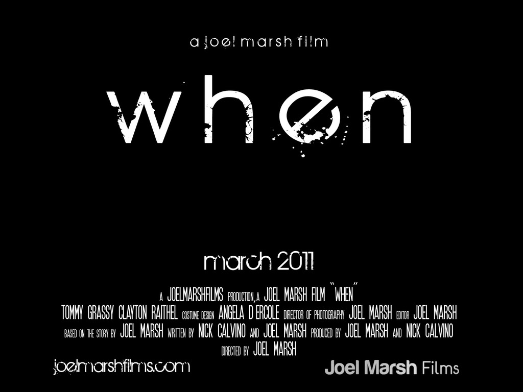 """When."" A Post-Apocalyptic Short Film.'s video poster"