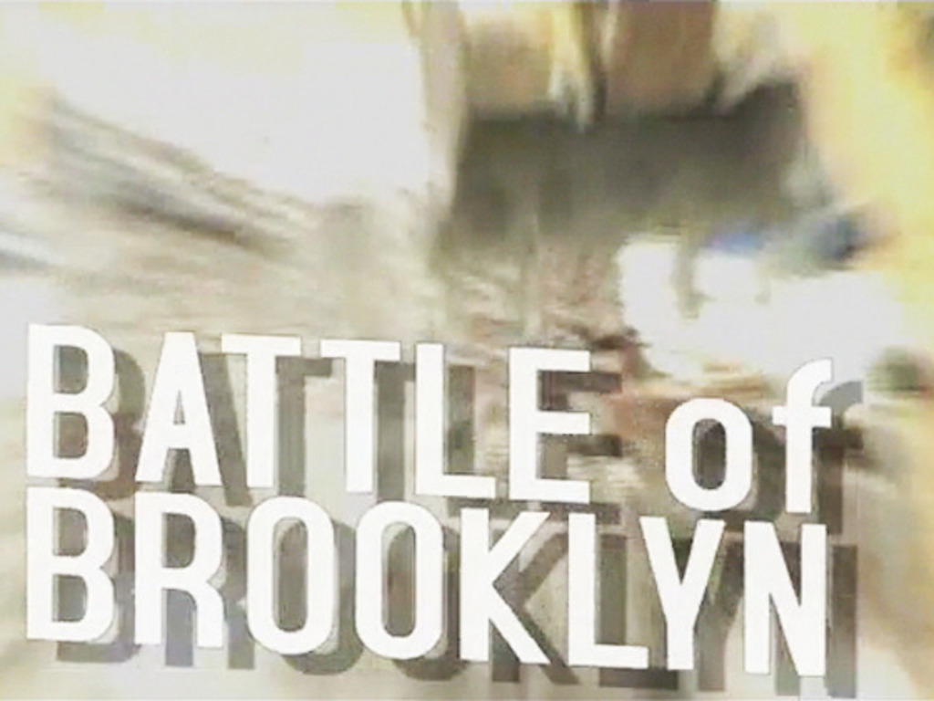 Battle of Brooklyn 's video poster