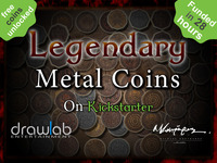 Legendary Metal Coins for Gaming.