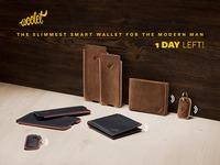 Woolet: The Slimmest Smart Wallet for the Modern Man