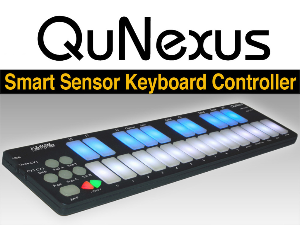 QuNexus Smart Sensor Keyboard Controller's video poster