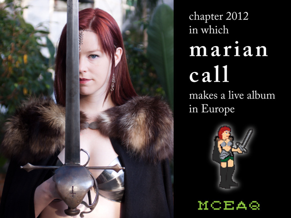 Marian Call European Adventure Quest!!!'s video poster