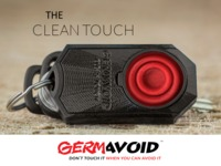 GERMAVOID CLEAN TOUCH: conveniently AVOID public germs!