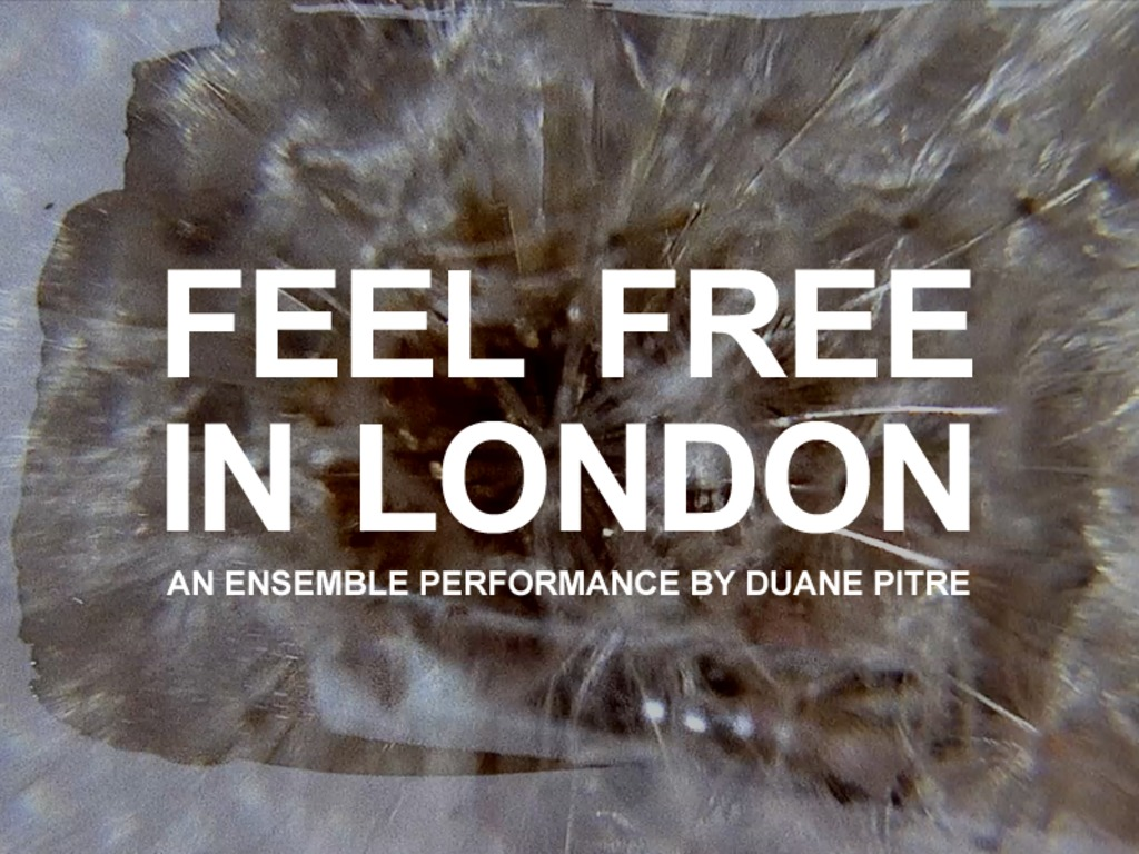 Feel Free in London's video poster