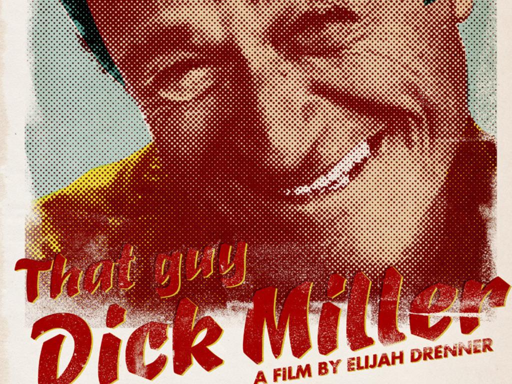 That Guy Dick Miller's video poster