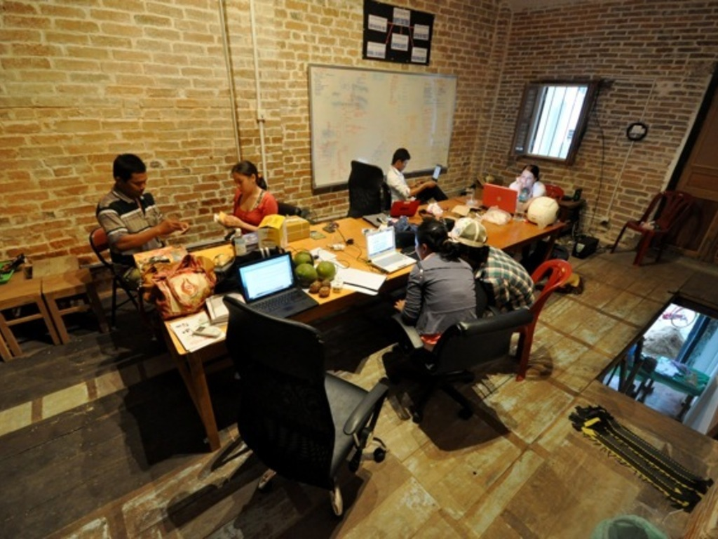 Coworking Collaboration & Coffee in Cambodia's video poster