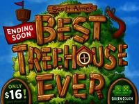 Best Treehouse Ever by Scott Almes and Green Couch Games!