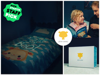 Scared of the dark? Our magical duvet cover is here to help!