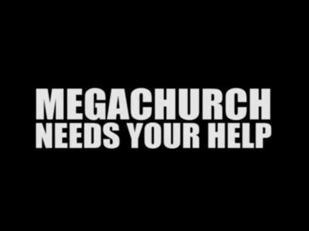 Pre-order the new Megachurch album's video poster