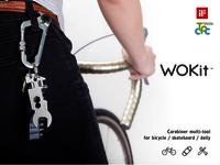 WOKit™ - Carabiner Multi-tool for BICYCLE/SKATEBOARD/DAILY