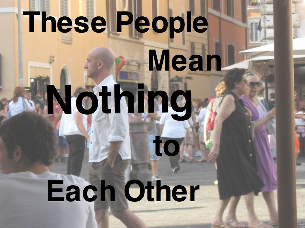 """""""These People Mean Nothing to Each Other"""" - An Eternal Short Story's video poster"""