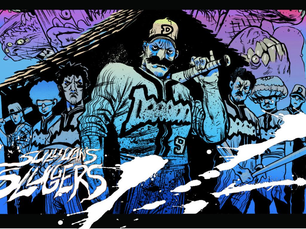 'Sullivan's Sluggers', Baseball Horror Graphic Novel's video poster