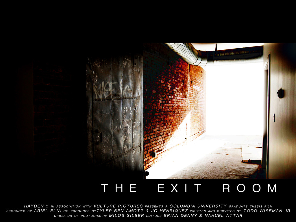 THE EXIT ROOM (Columbia University Graduate Thesis Film)'s video poster