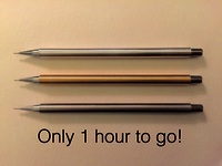 The Hand-Made-To-Order Everlasting Mechanical Pencil.
