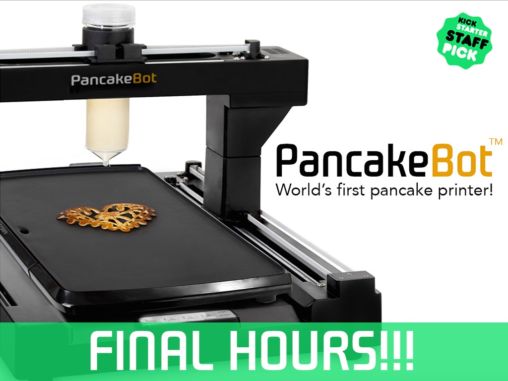 PancakeBot - The world's first pancake printer!'s video poster