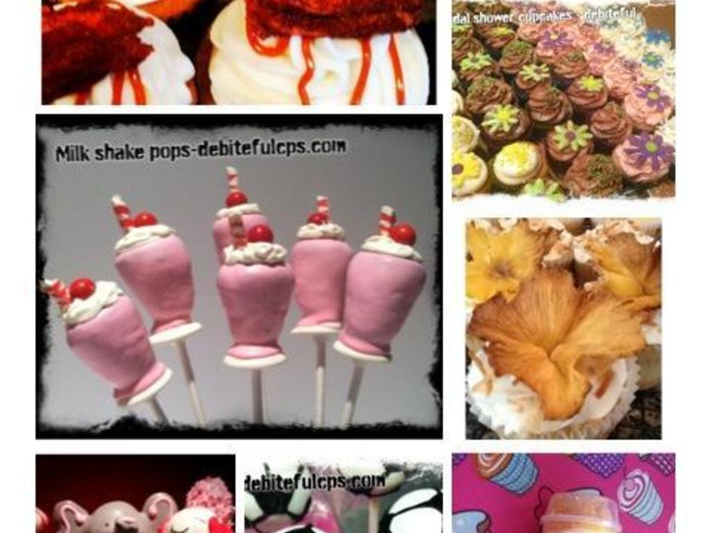 "The De""Bite""Ful Cake Pop Shop - WE bake, YOU create, studio's video poster"