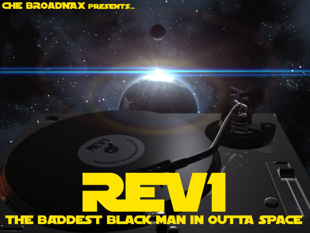 """The Baddest Black Man In Outta Space"" animated music video's video poster"