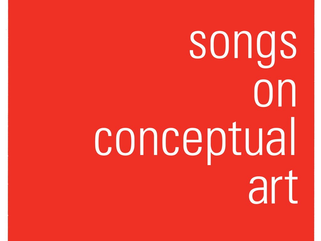 Songs on Conceptual Art's video poster