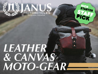 Leather & Canvas Moto-Gear   Launch A New Janus Motorcycle!