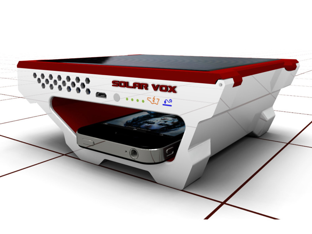 Solar Vox personal USB solar charger's video poster