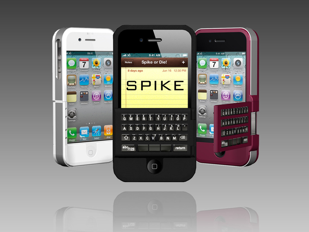 Spike: Real Keyboards and Protective Cases for the iPhone's video poster