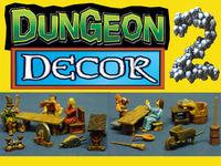 Tavern Dungeon Decor 28mm miniature scenery terrain