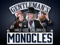 The Gentleman's Single-Use Monocle