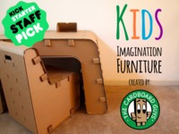 Kids Imagination Furniture by The Cardboard Guys