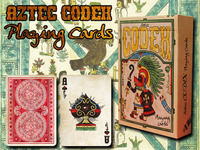 Aztec CODEX Playing Cards