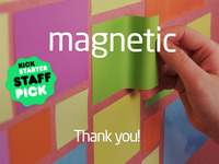 MAGNETIC: Paper That Sticks to Walls