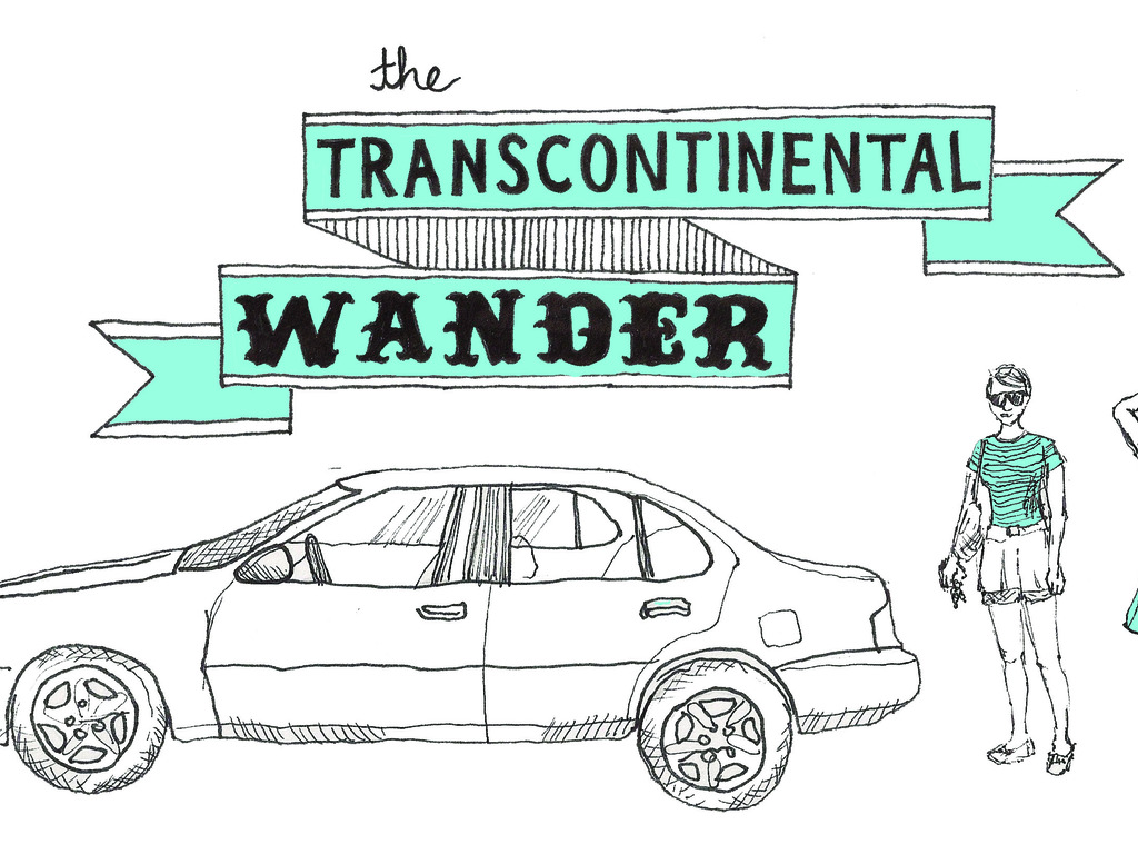 The Transcontinental Wander's video poster