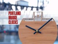The Portland Bridge Clock Series