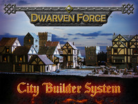 Dwarven Forge's City Builder Terrain System