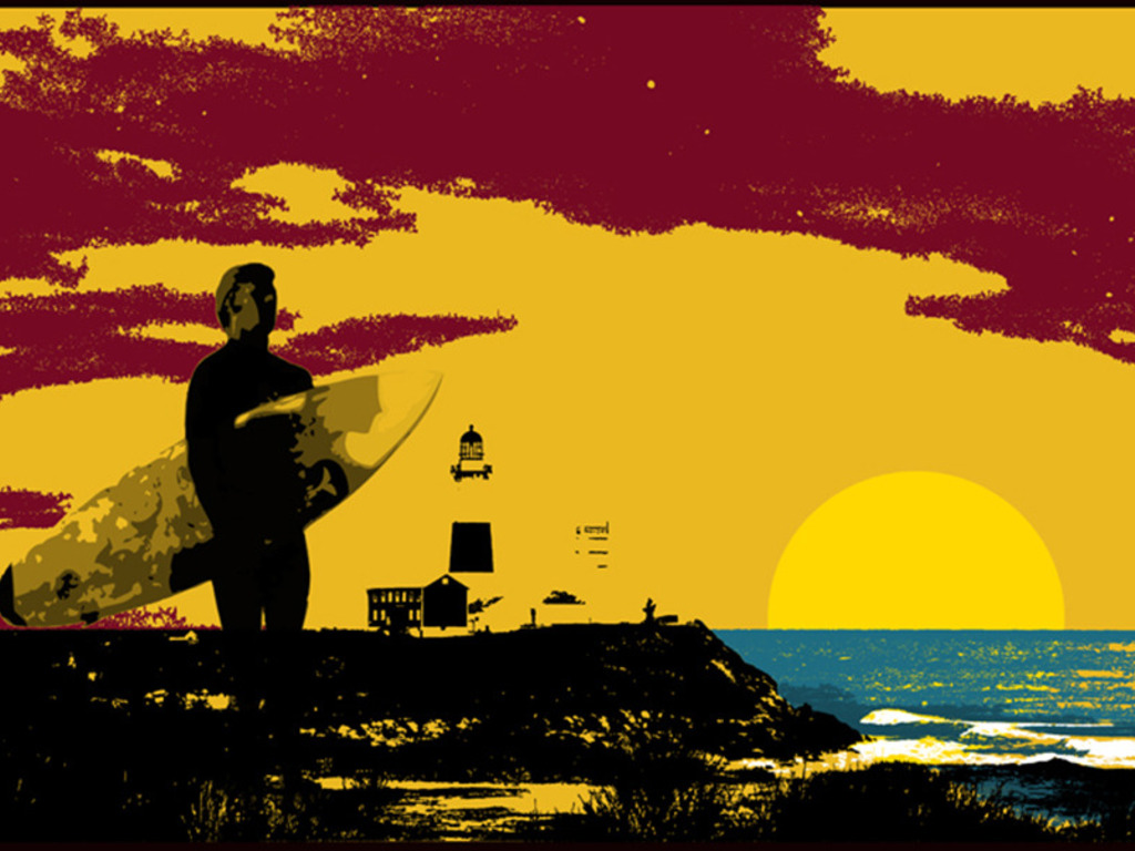 """""""A Hundred Miles to The End"""" A Long Island Surf Film's video poster"""