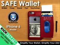 SAFE Wallet Case for iPhone 6—Simplify Your Everyday Carry!