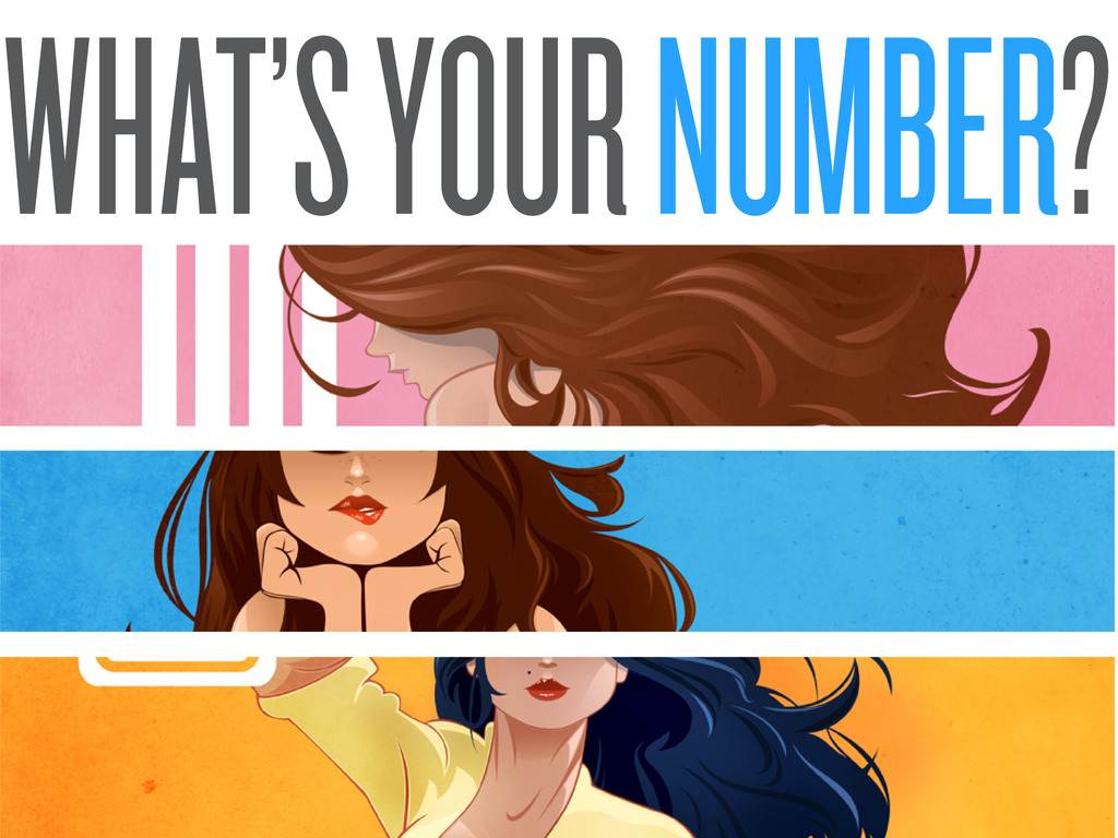 """""""What's Your Number?"""" Pin Ups - Fine Art Prints's video poster"""