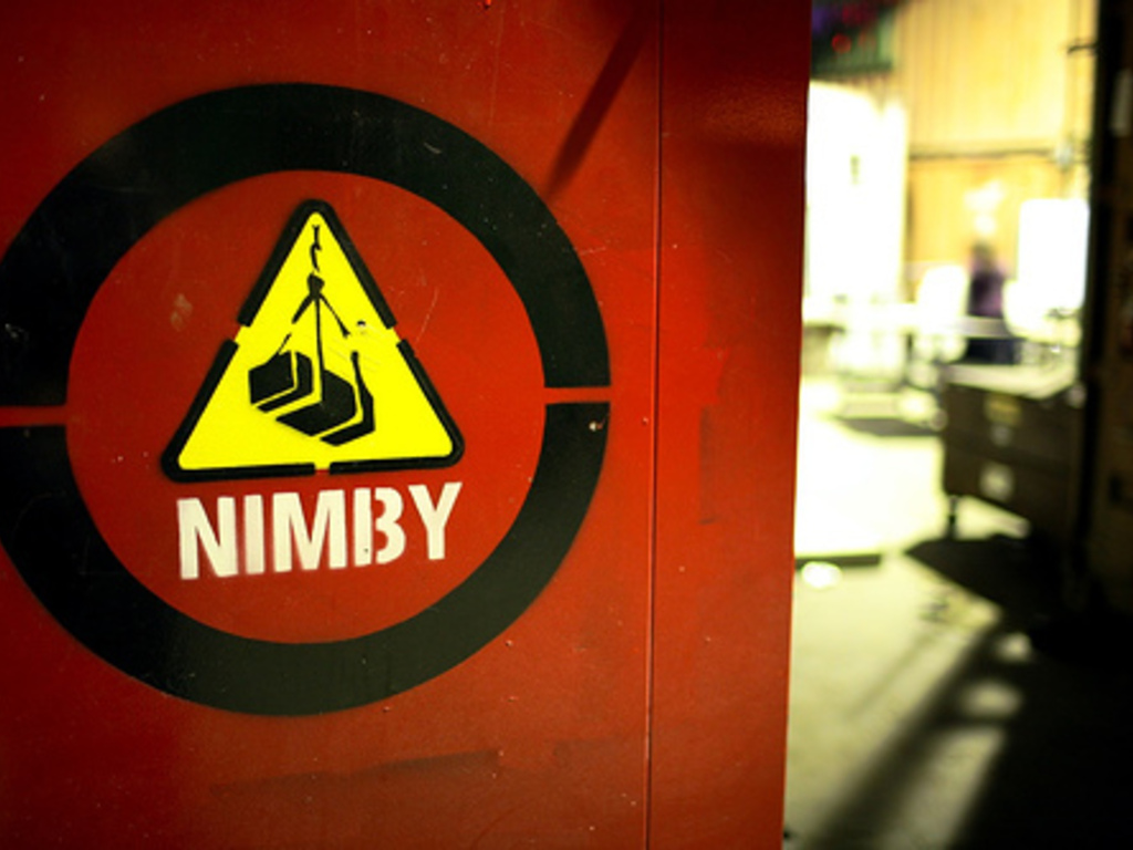 NIMBY - Industrial Art and DIY Space's video poster