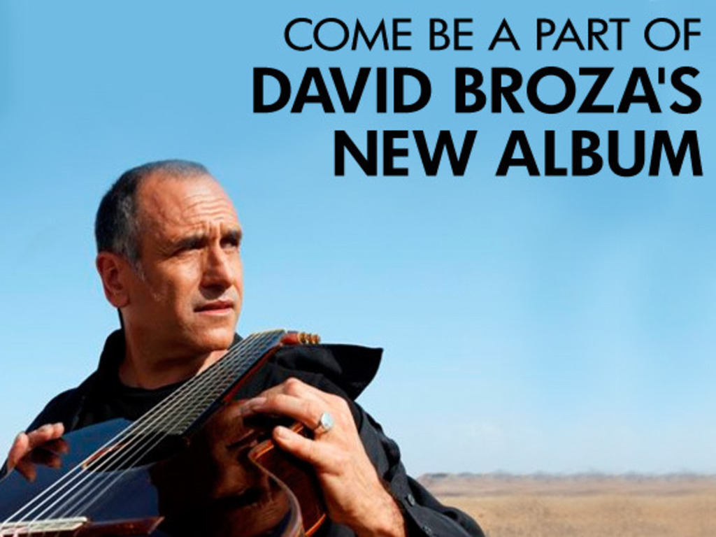 Come Be A Part Of David Broza's New Album's video poster