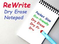 ReWrite - Dry Erase Pocket Notepad