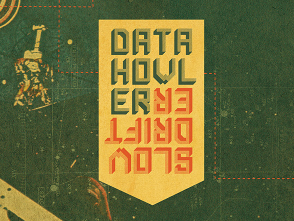 """Datahowler's """"Slowdrifter"""" - Scifi space music at its finest's video poster"""