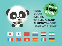 Fluent Panda — Forget about forgetting languages