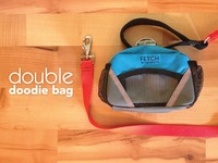 Doodie Bag- holds your crap, and your dog crap too!