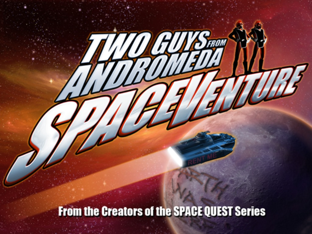 Two Guys SpaceVenture - by the creators of Space Quest's video poster
