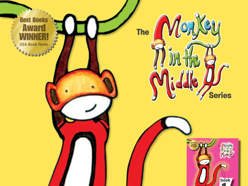 """Monkey in the Middle"" Divorce Book Series's video poster"