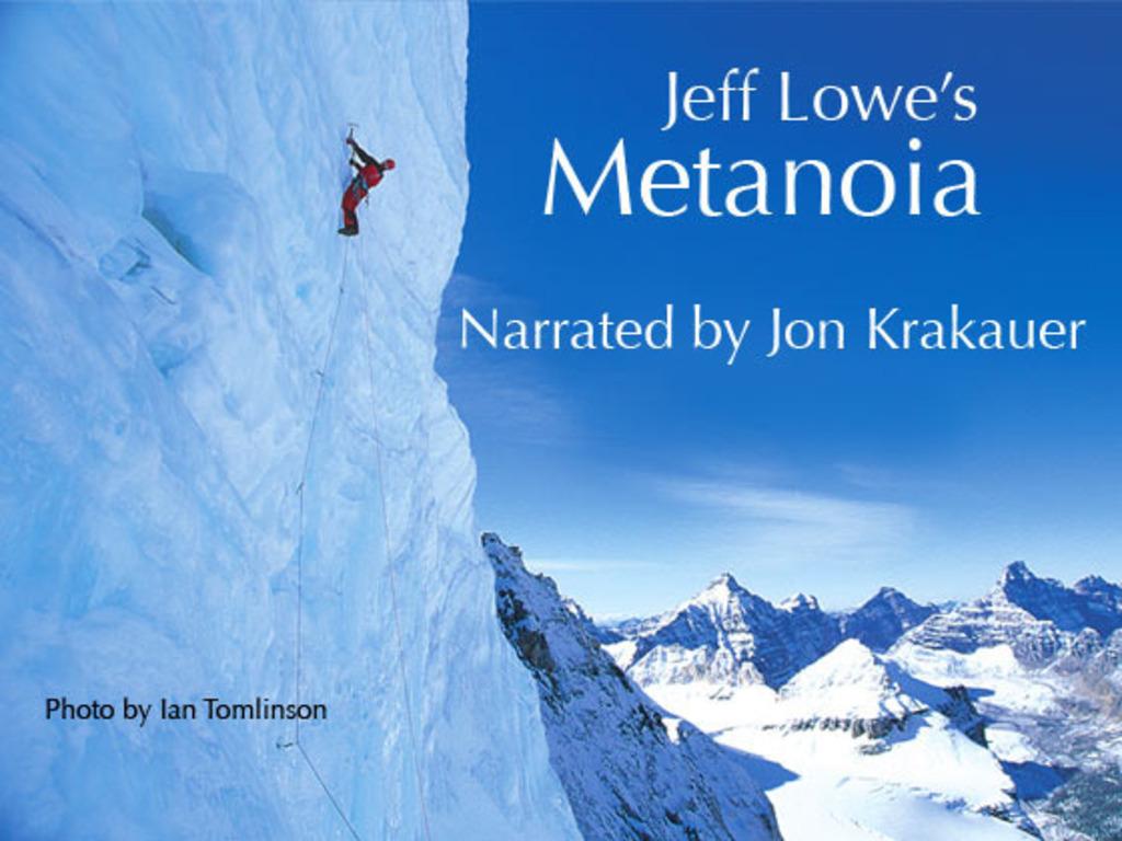 Jeff Lowe's Metanoia #1 - PLEASE GO TO #2's video poster