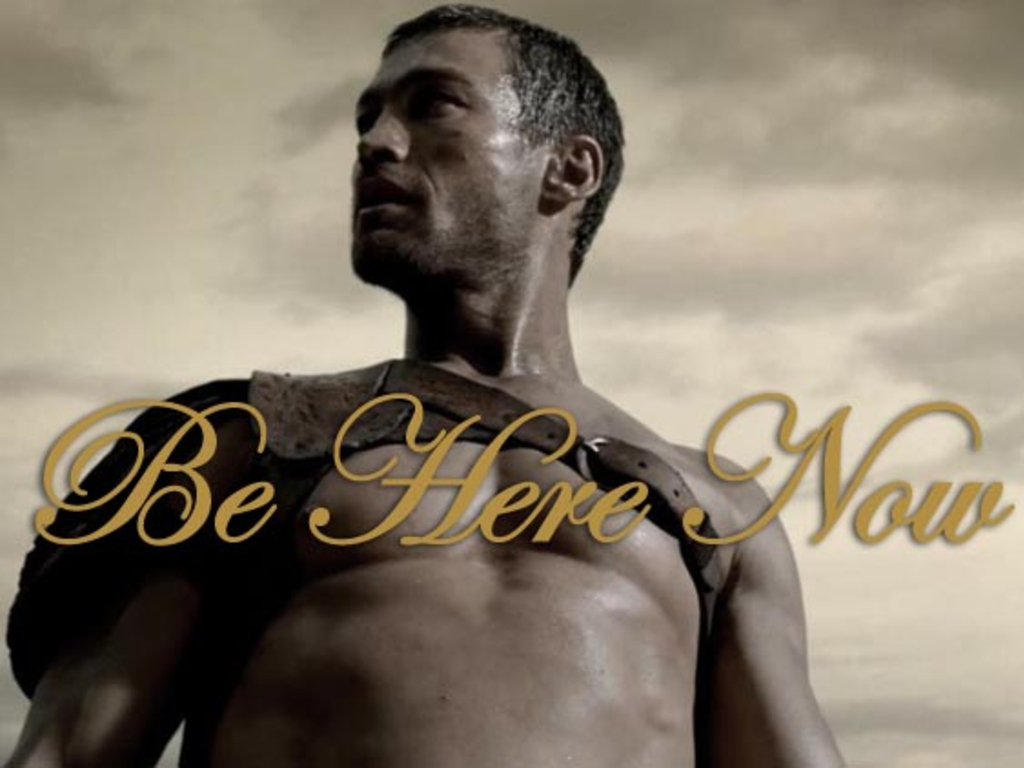 """""""Be Here Now"""" – The Andy Whitfield Story's video poster"""